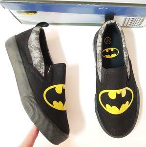 NIB New Batman twin gore loafer slip ons shoes